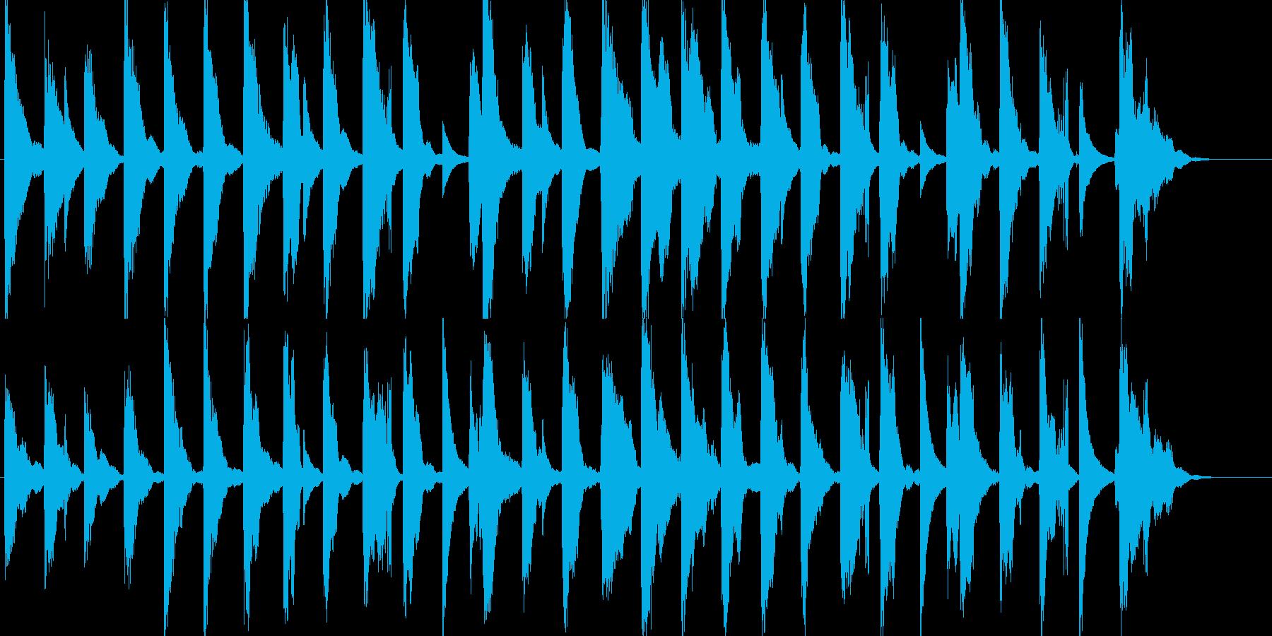 かわいい15秒CM楽曲。の再生済みの波形