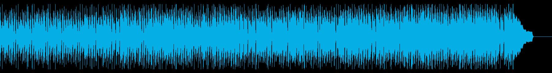 潮風の漂うボサノバの再生済みの波形