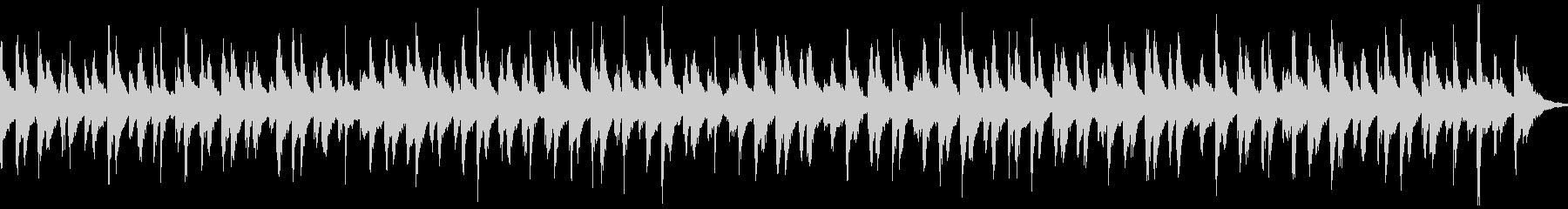 賑やかなお囃子(ループ)の未再生の波形