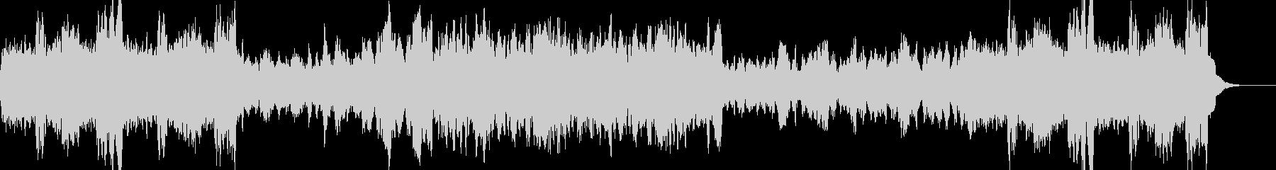 ジングルベル/オーケストラの未再生の波形