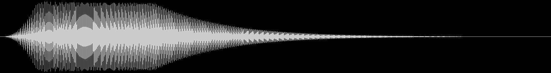 ボタン押下や決定音_ポピッ!の未再生の波形