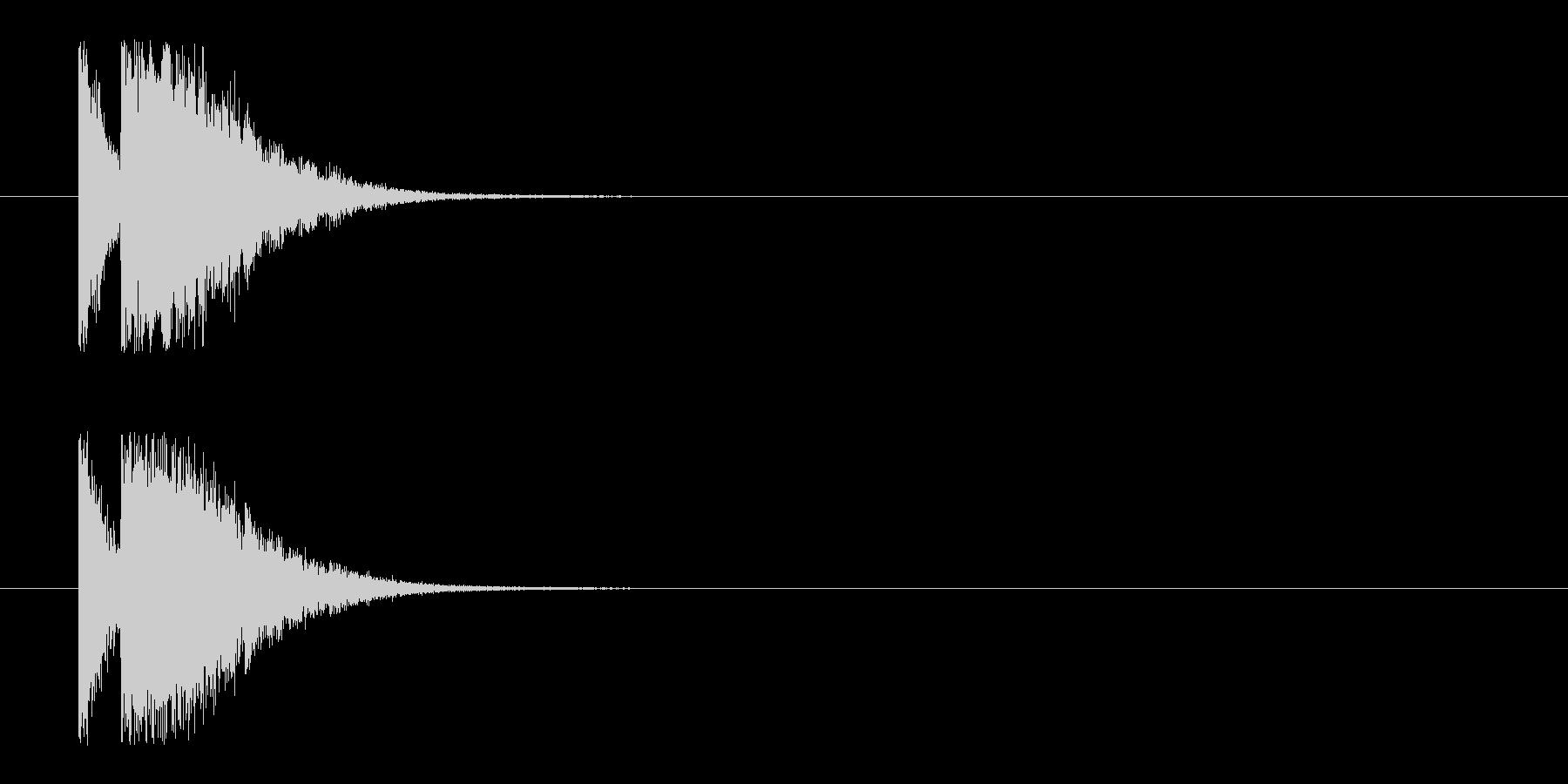 ビームライフル2★リバーブ有の未再生の波形