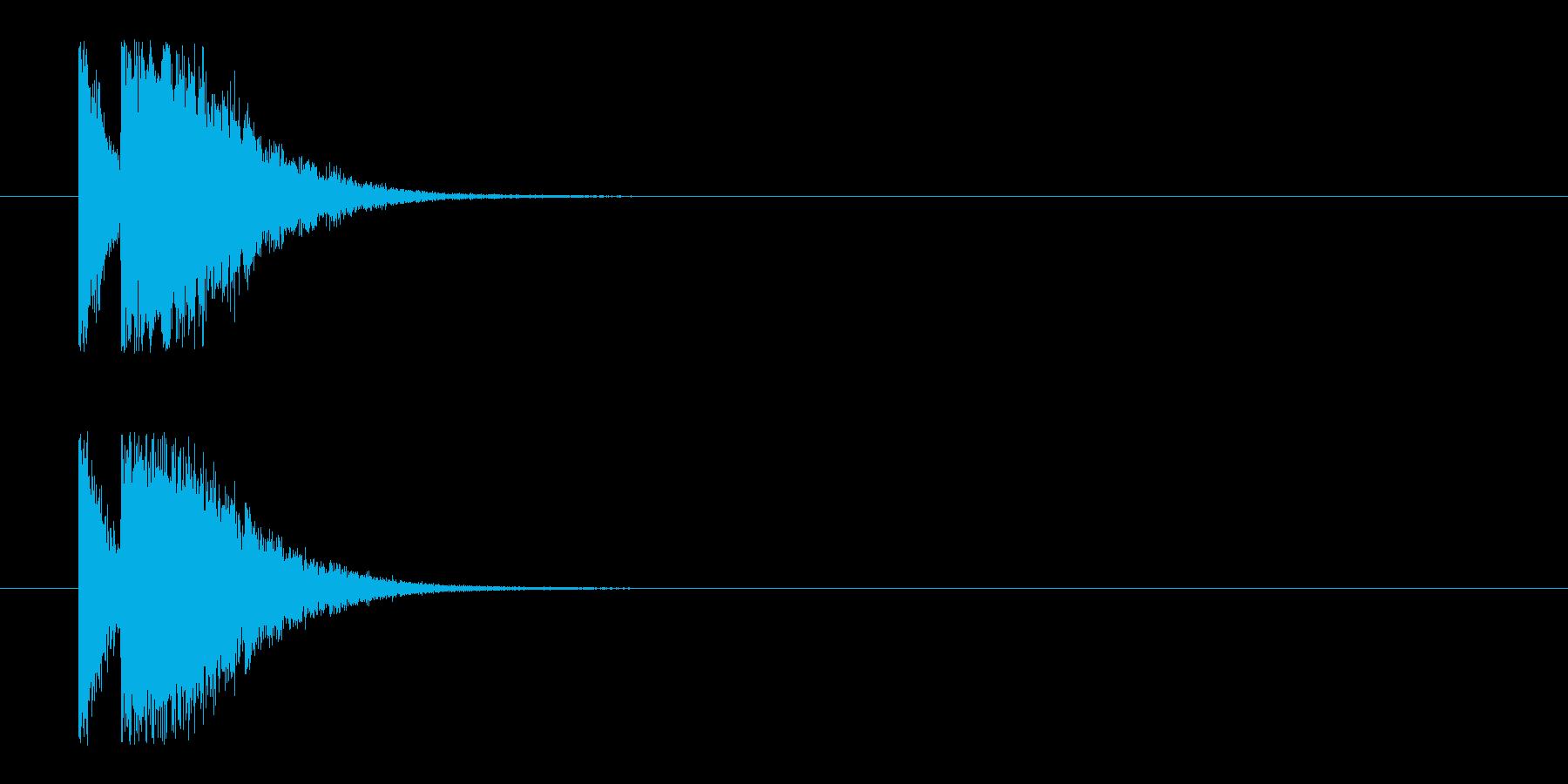 ビームライフル2★リバーブ有の再生済みの波形
