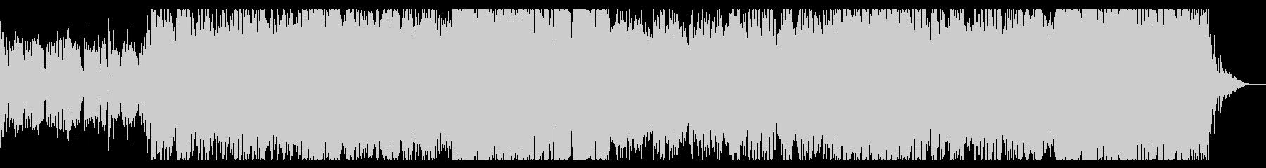 ミステリアスなエスニックアンビエントの未再生の波形