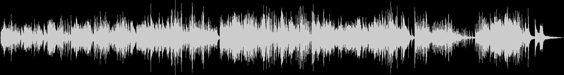 幻想的なピアノバラード(神秘的・透明感)の未再生の波形