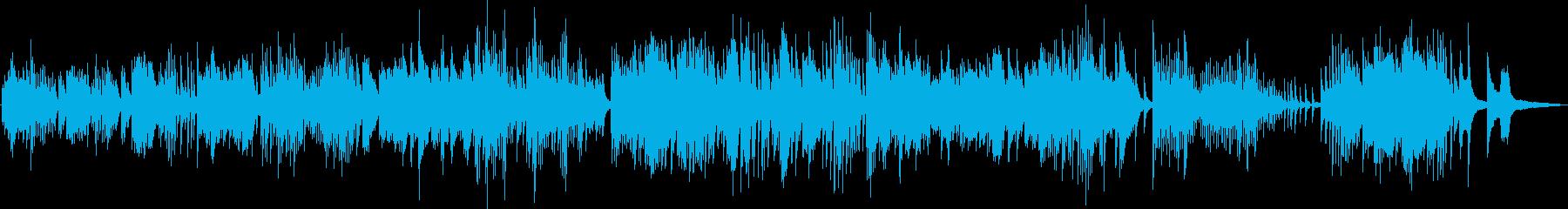 幻想的なピアノバラード(神秘的・透明感)の再生済みの波形