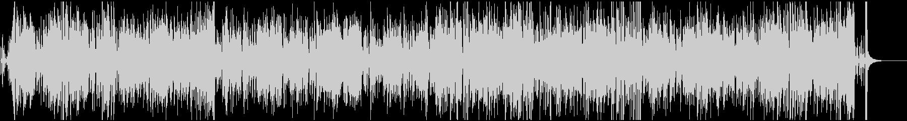 映像BGM おしゃれなジャズボサノバの未再生の波形