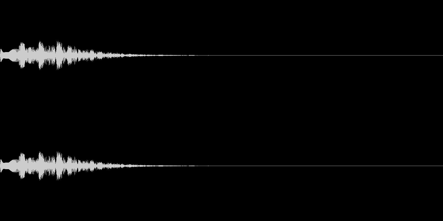 魔法、状態異常などに使える効果音_1の未再生の波形