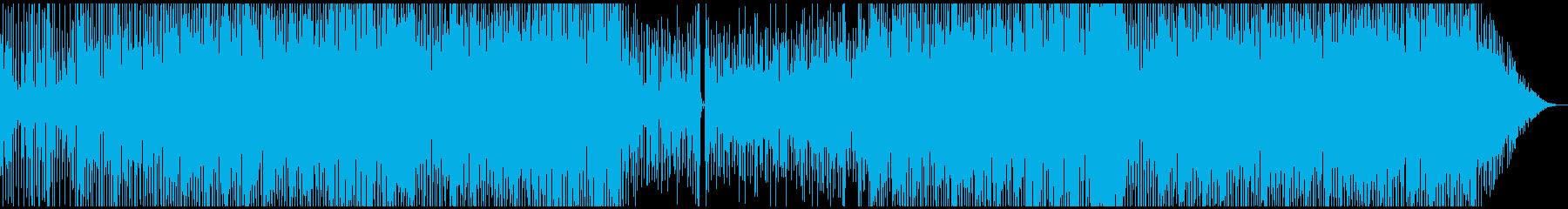 サックスの洗練されたファンクサウンドの再生済みの波形