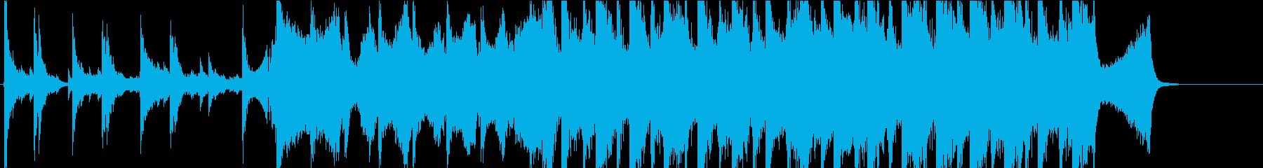 大河的な壮大で感動な映画で流れてそうな曲の再生済みの波形