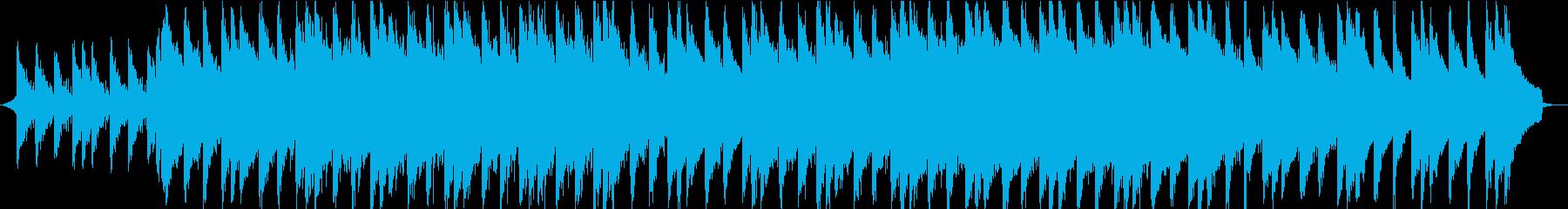 オシャレ・エモーショナルな映像用音楽②の再生済みの波形