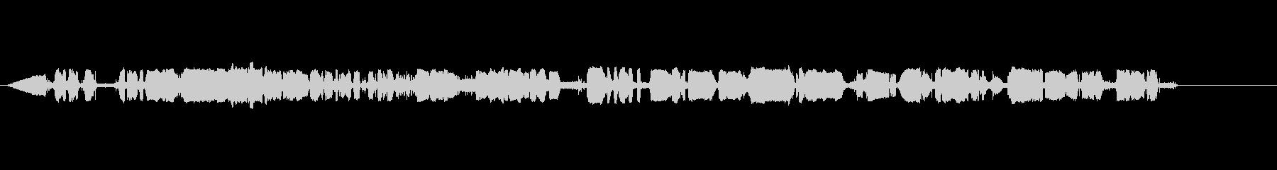 デンマークのラジオスキャンの未再生の波形