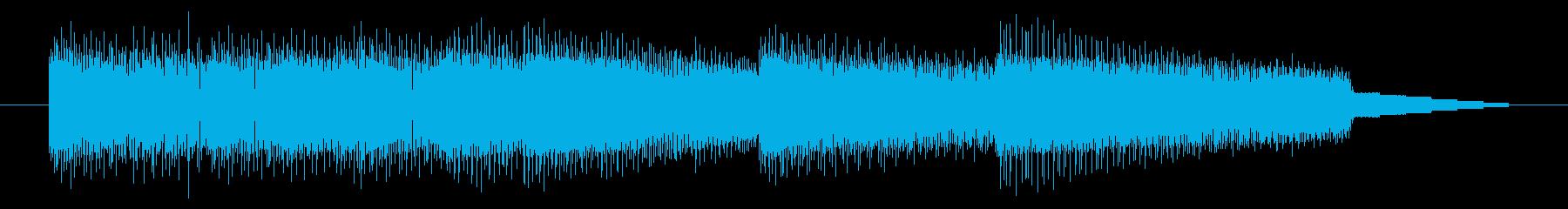 GB風RPGのジングルの再生済みの波形