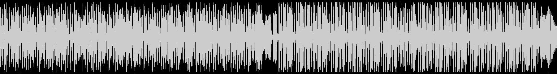 暗い・ハロウィン レトロジャズ(ループの未再生の波形