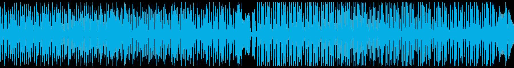 暗い・ハロウィン レトロジャズ(ループの再生済みの波形