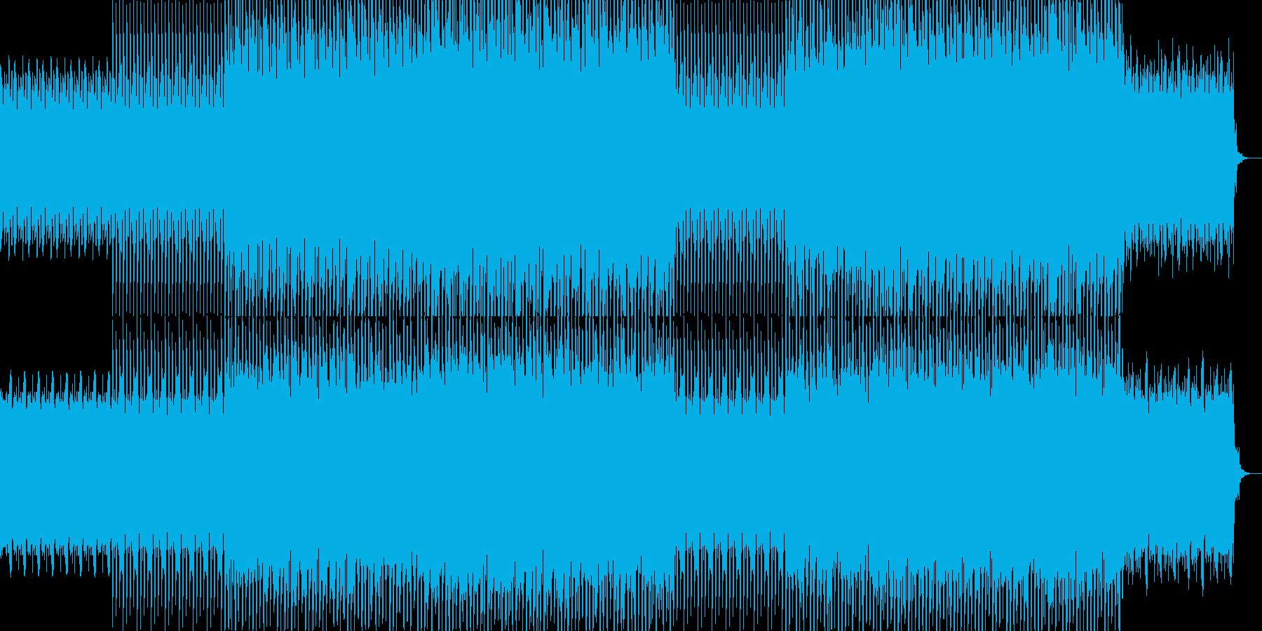 シンプル・ナレーションバック-01の再生済みの波形