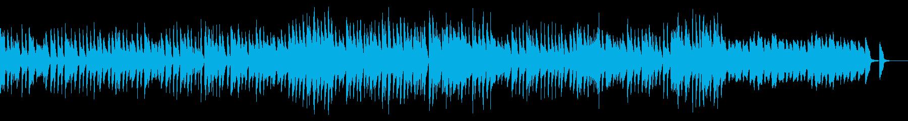 明るくて可愛らしいマリンバのBGMの再生済みの波形