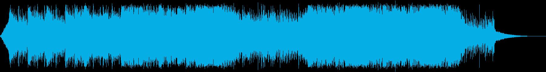 火山・ダンジョン・ファンタジーの再生済みの波形