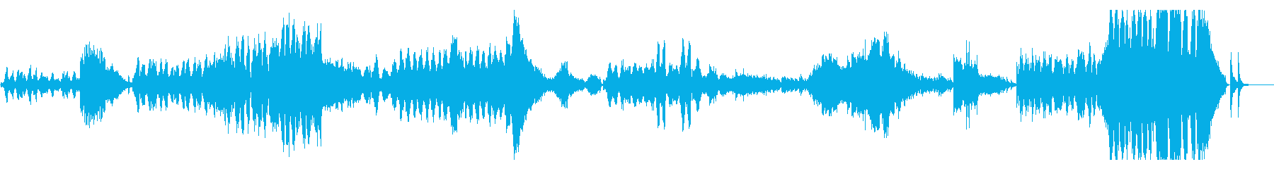 ドビュッシー 世俗的な舞曲 ハープと弦の再生済みの波形
