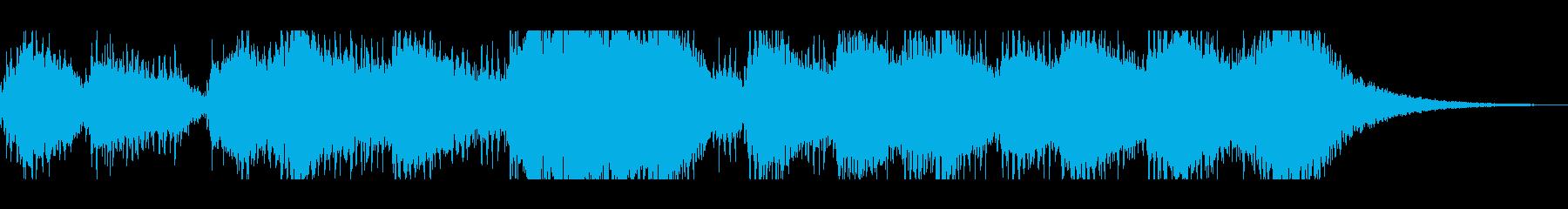 レイヤードスペースベルコーラスの再生済みの波形