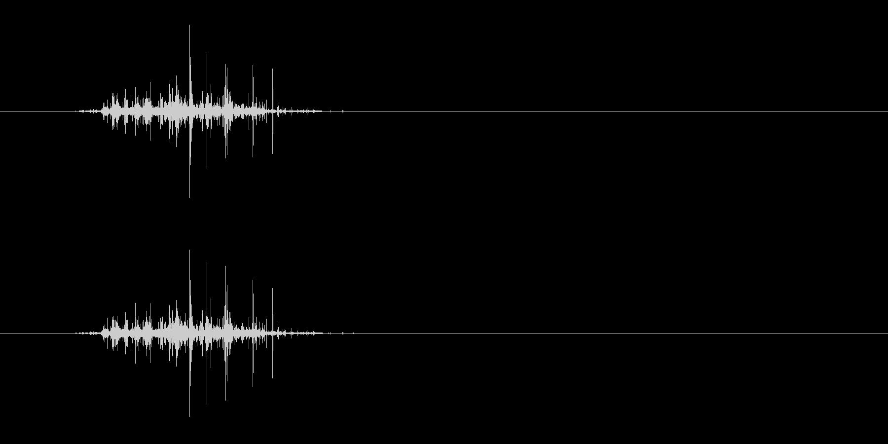 咀嚼音/ASMR/カリッ/シャキッの未再生の波形