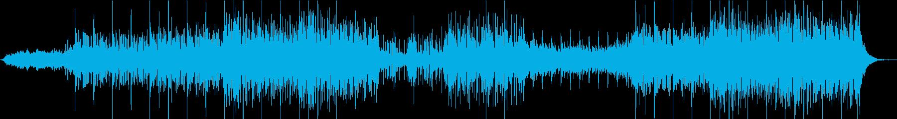 電気楽器。中東のフレーバー、鼓動す...の再生済みの波形