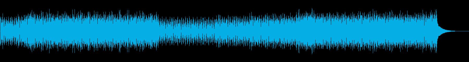 ギラギラしたド派手なディスコトランスの再生済みの波形