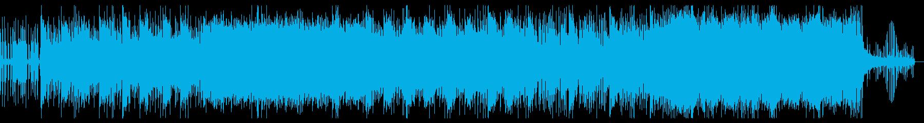 ドラマアニメBGMオーケストラエキサイトの再生済みの波形