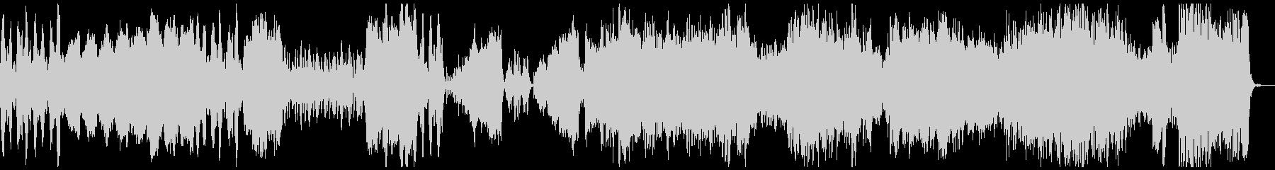 BWV1070/1『ラルゲット』 の未再生の波形