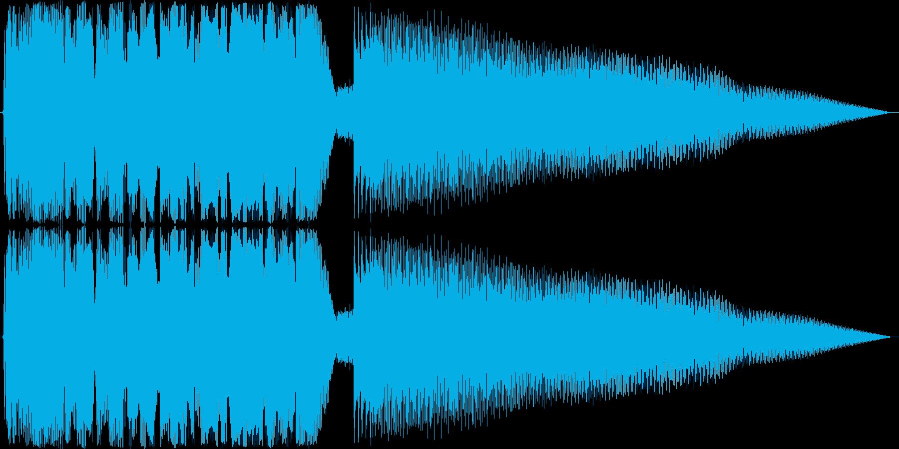 ジングル ロックンロールギターBの再生済みの波形
