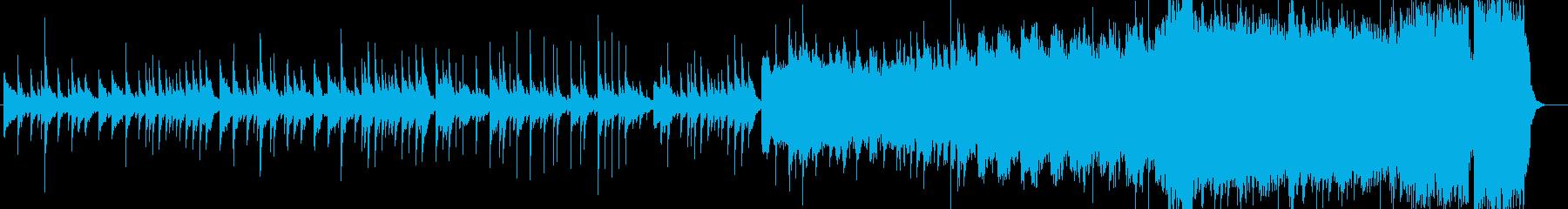 切なく優しい感じのピアノサウンドの再生済みの波形