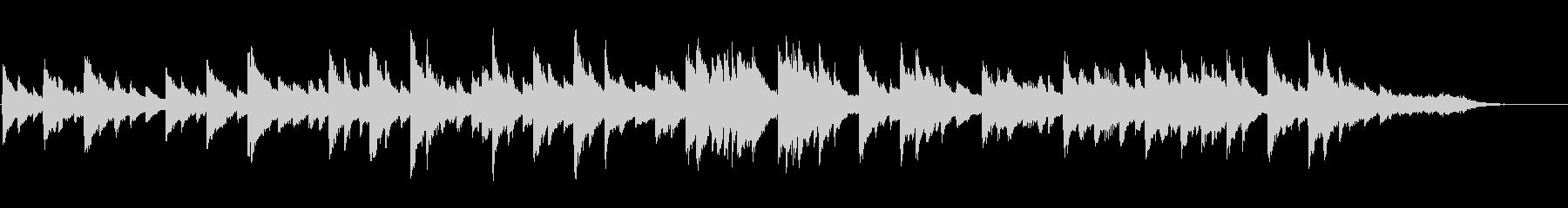 切ない ヒーリング ピアノソロの未再生の波形