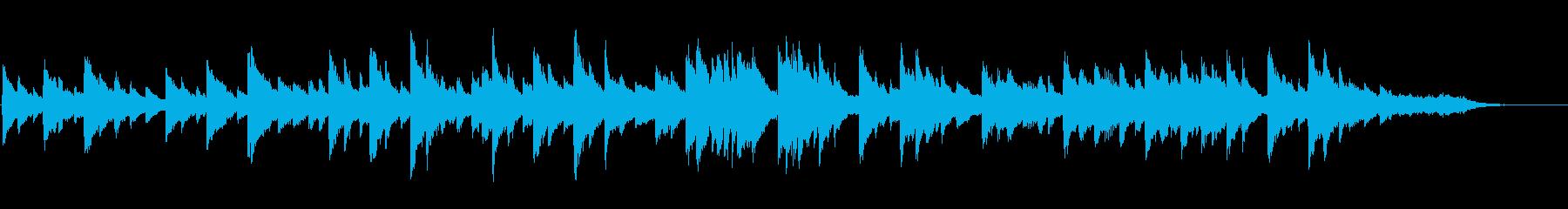 切ない ヒーリング ピアノソロの再生済みの波形