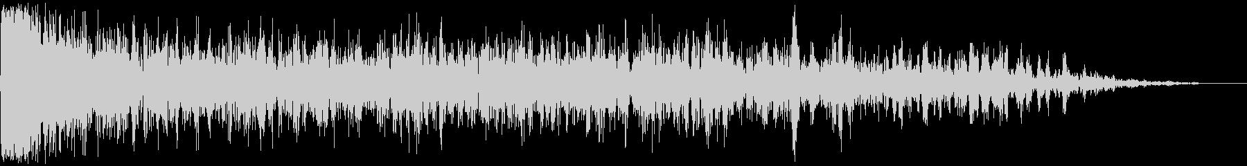 【アンビエント】ドローン_08 実験音の未再生の波形