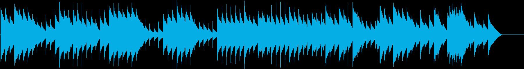オルゴールで子守唄3(モーツァルト)の再生済みの波形