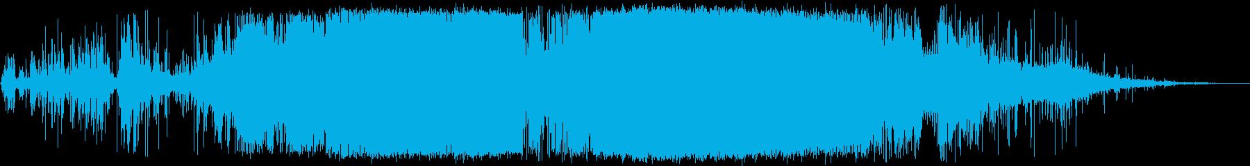 高電圧放電、アーキングのシズルおよ...の再生済みの波形
