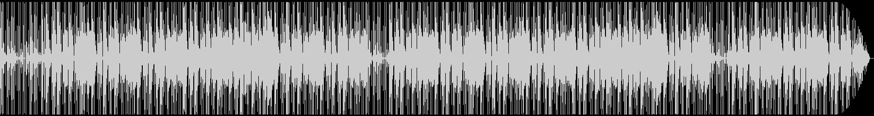 ゆったりとしたEDM系のBGMです。の未再生の波形