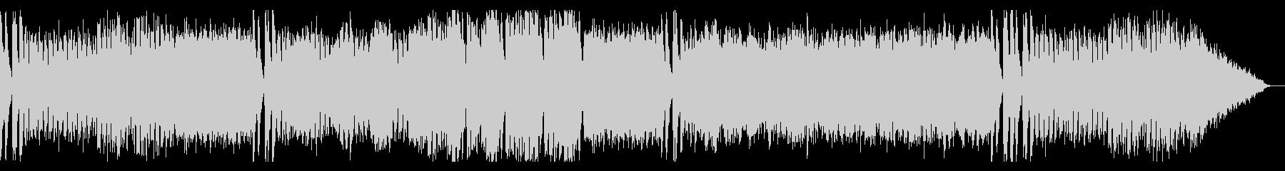 追われてるようなBGMの未再生の波形