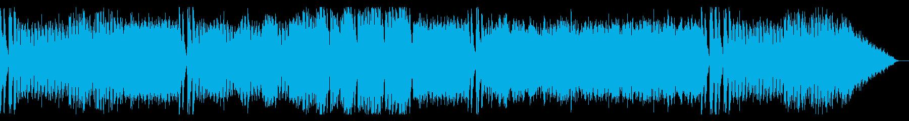 追われてるようなBGMの再生済みの波形