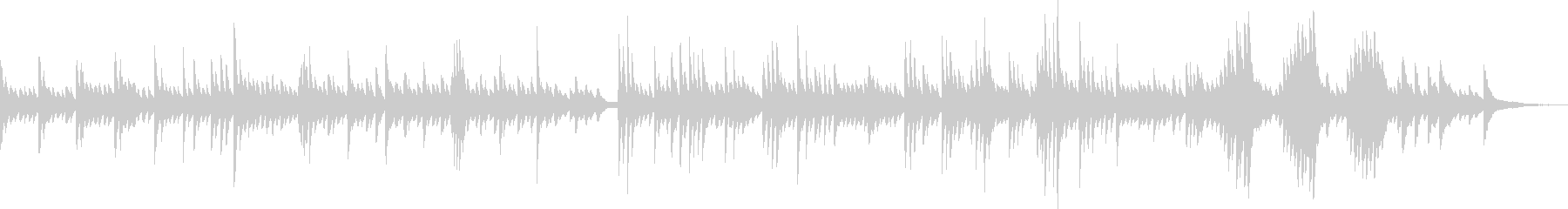 Moist and fantastic piano piece's unreproduced waveform
