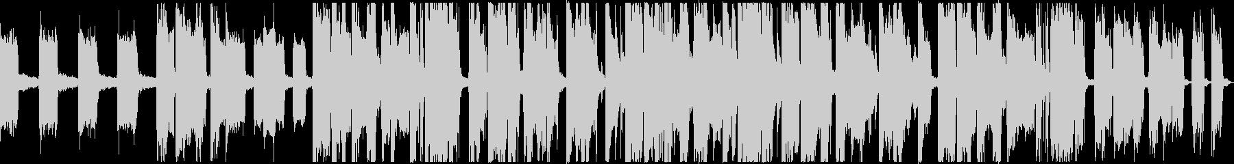 エレクトリックなジングル向け30秒の曲の未再生の波形