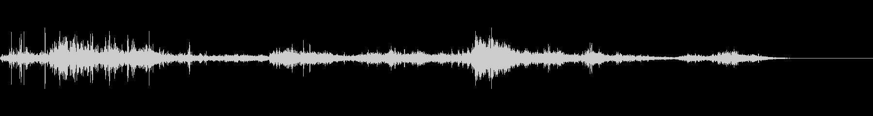 カミナリ(遠雷)-21の未再生の波形