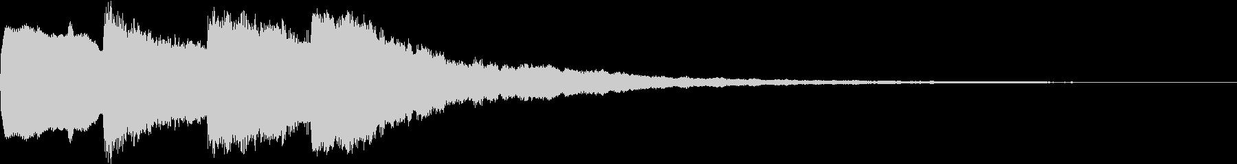 シンプル アナウンス 案内 放送 8の未再生の波形