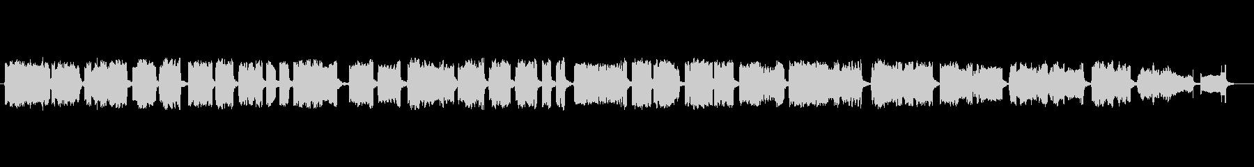 神楽をイメージした篠笛独奏の未再生の波形