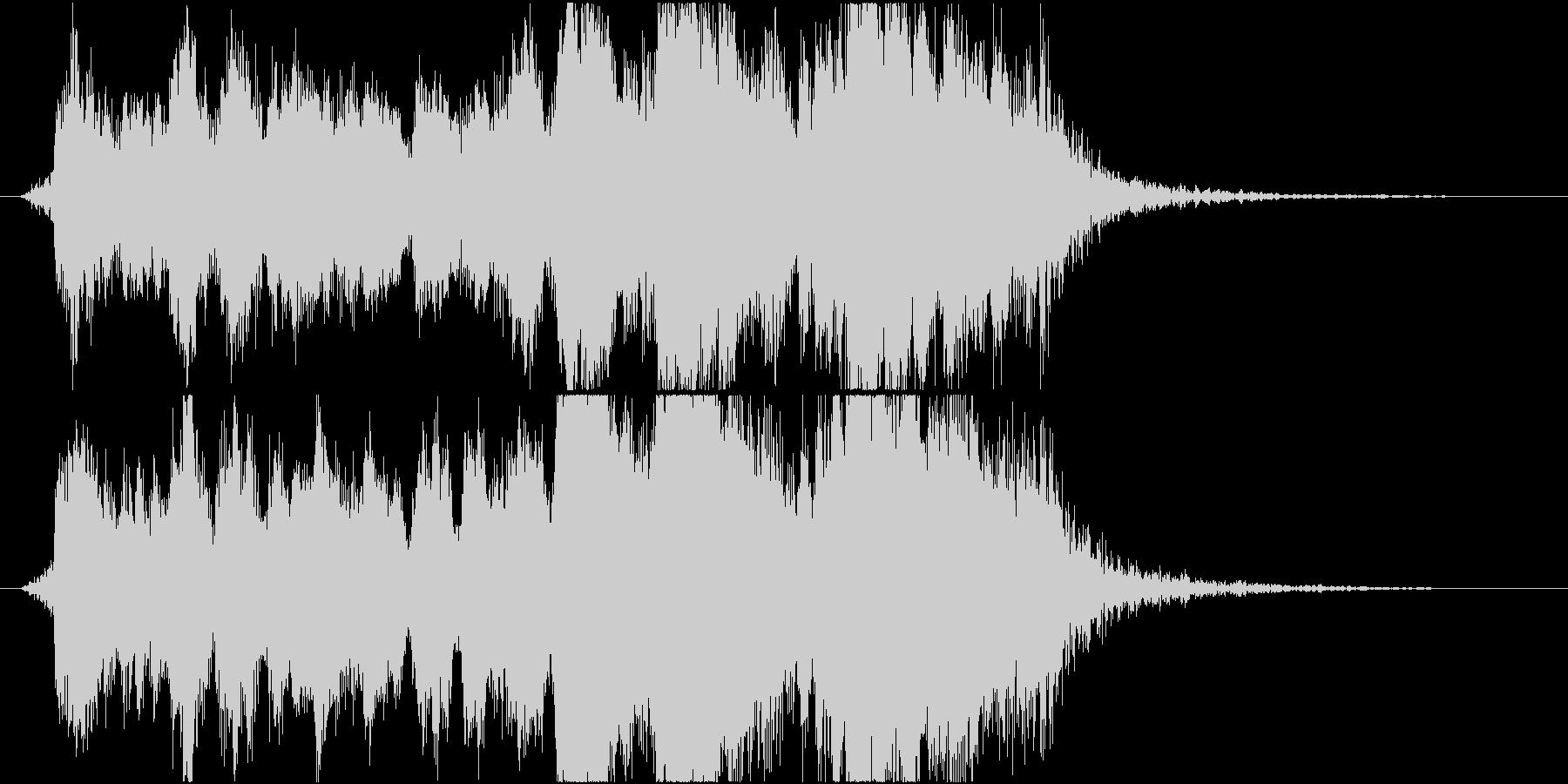 表彰式ファンファーレ オーケストラverの未再生の波形