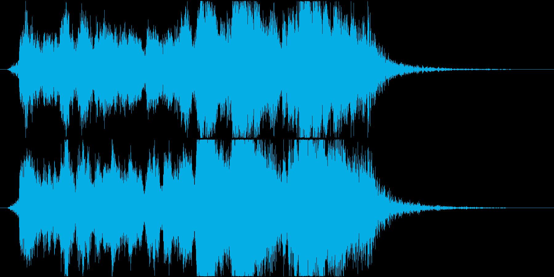 表彰式ファンファーレ オーケストラverの再生済みの波形