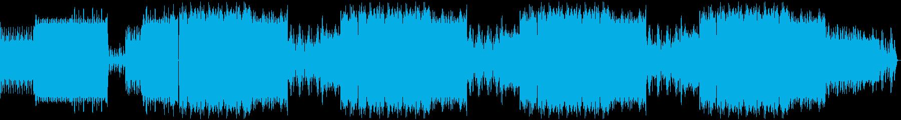 エクササイズ 4つ打ちダンス 13分間の再生済みの波形