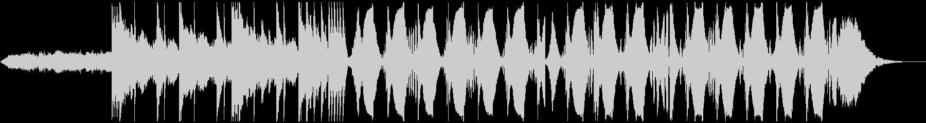 海外ブランドCM FutureBassの未再生の波形