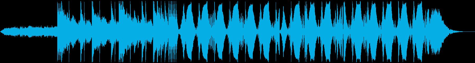 海外ブランドCM FutureBassの再生済みの波形