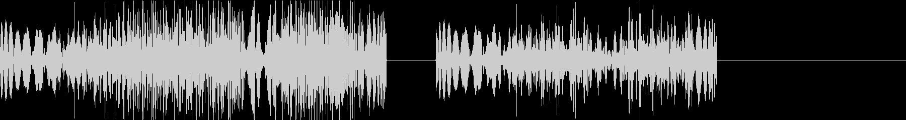 DJプレイ スクラッチ・ノイズ 310の未再生の波形